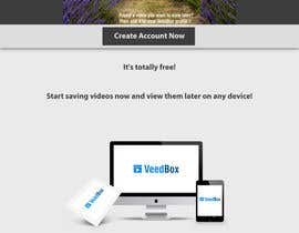 nº 52 pour Complete web design for a new video management platform par HQluhri8HQ