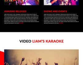Nro 20 kilpailuun Bold-Dynamic-Creative Website Mockup Design For Karaoke Business That Pops For WordPress or PHP käyttäjältä haneka