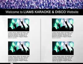 syedanooshxaidi9 tarafından Bold-Dynamic-Creative Website Mockup Design For Karaoke Business That Pops For WordPress or PHP için no 4