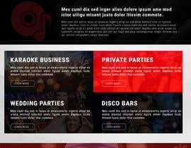 Nro 18 kilpailuun Bold-Dynamic-Creative Website Mockup Design For Karaoke Business That Pops For WordPress or PHP käyttäjältä viki001