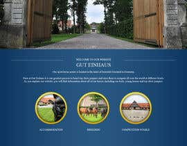 nº 27 pour Design a Website Mockup for Horse Stable par sanaqila