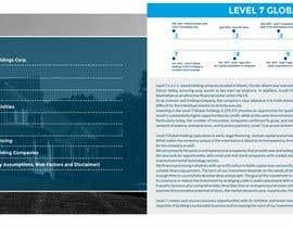 DebashisCh tarafından Design for 3 Brochures Company Presentation, Product Presentation and Snapshot için no 11