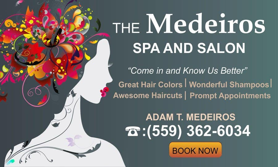 #144 for Design a Banner for a Salon and Spa by mansiartist1
