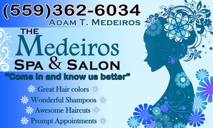#115 para Design a Banner for a Salon and Spa por akritidas21