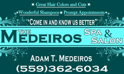 #153 para Design a Banner for a Salon and Spa por akritidas21