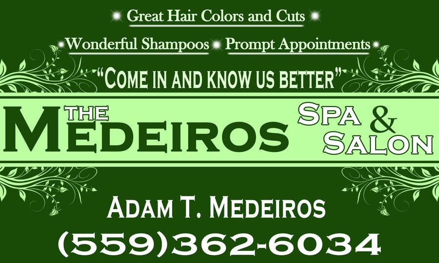 #156 for Design a Banner for a Salon and Spa by akritidas21