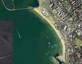nº 1 pour Download a printable google map satellite view. LARGE 2A0 of St Kilda Beach par majajni