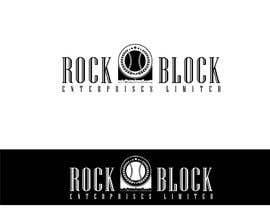 """Nro 27 kilpailuun I need a logo designed - """"Rock Block Enterprises Limited"""" baseball neighborhood real estate company käyttäjältä JaizMaya"""