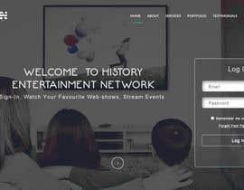tanzeelhussain tarafından Design a Website Mockup Index Page & Home Page için no 42