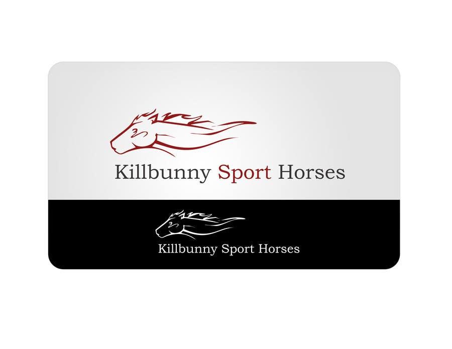 Penyertaan Peraduan #8 untuk Design a Logo for a business that produces sport horses
