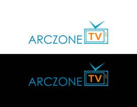 #22 para Design a Logo for ARCZONE TV por gamav99