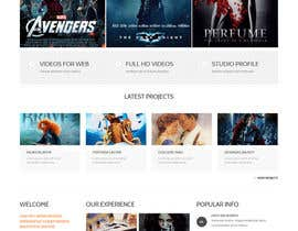 Nro 20 kilpailuun Design a Website Mockup for online movie collection käyttäjältä preside