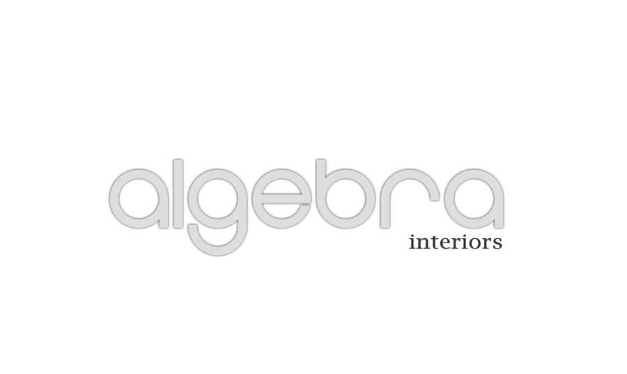 Penyertaan Peraduan #242 untuk Logo Design for Algebra Interiors