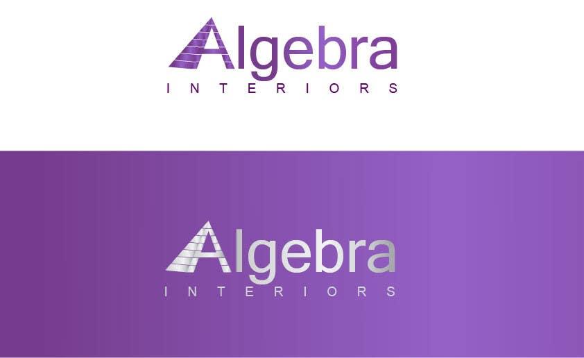 Penyertaan Peraduan #233 untuk Logo Design for Algebra Interiors