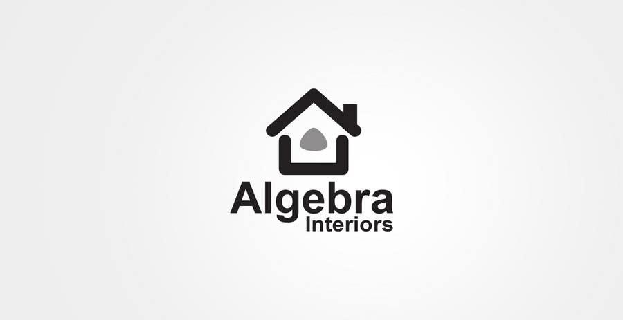 Bài tham dự cuộc thi #207 cho Logo Design for Algebra Interiors