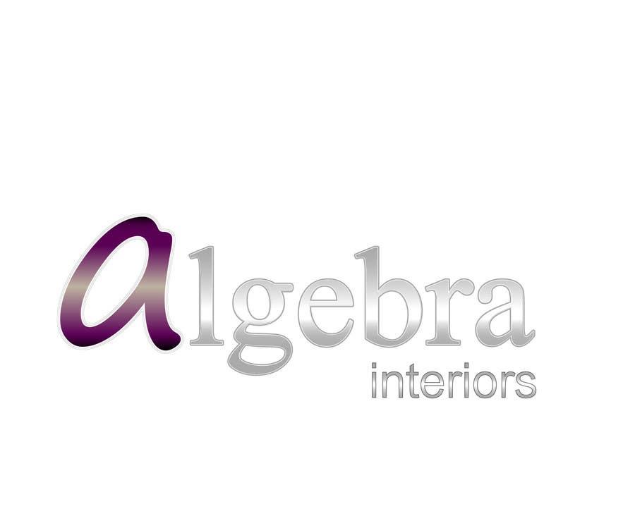 Bài tham dự cuộc thi #225 cho Logo Design for Algebra Interiors