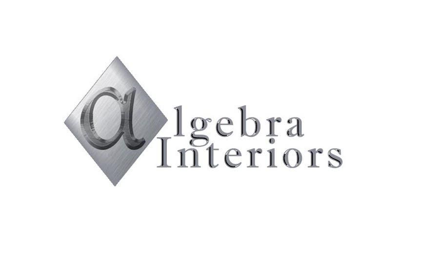Penyertaan Peraduan #110 untuk Logo Design for Algebra Interiors