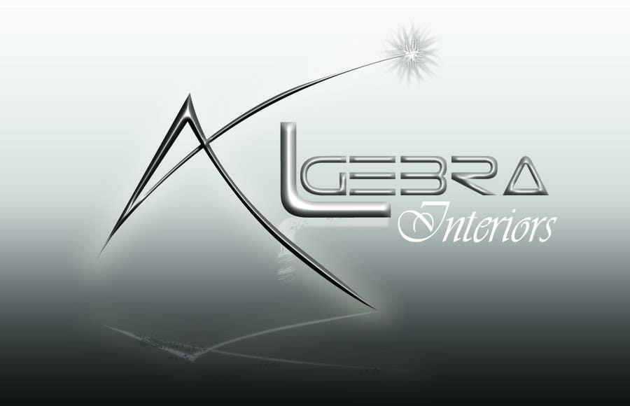 Penyertaan Peraduan #116 untuk Logo Design for Algebra Interiors