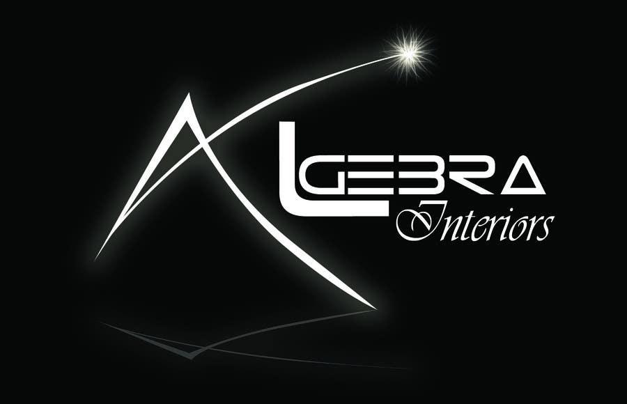 Penyertaan Peraduan #60 untuk Logo Design for Algebra Interiors