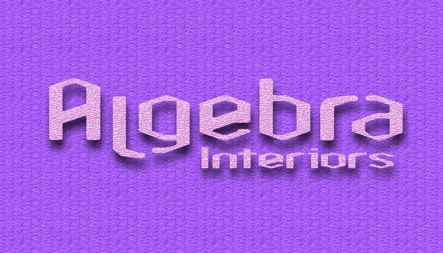 Penyertaan Peraduan #147 untuk Logo Design for Algebra Interiors