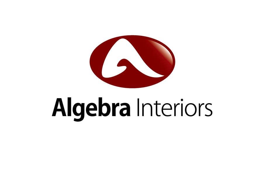 Penyertaan Peraduan #10 untuk Logo Design for Algebra Interiors