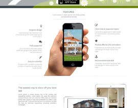 #11 for Design a Website Mockup for iPhone Application Website by manishb1