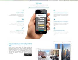 #19 for Design a Website Mockup for iPhone Application Website by manishb1