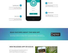 #22 cho Design a Website Mockup for iPhone Application Website bởi roshanthilanga4