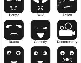 #9 for Design some Icons Film Genre's by moro2707