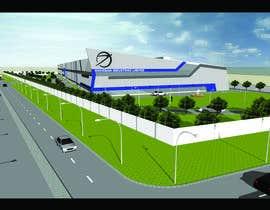Nro 3 kilpailuun Industrial Building Rendering käyttäjältä wrishitesh