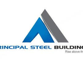 #1 para Logo Design for PRINCIPAL STEEL BUILDINGS por vanee