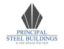 #152 para Logo Design for PRINCIPAL STEEL BUILDINGS por Skyspel
