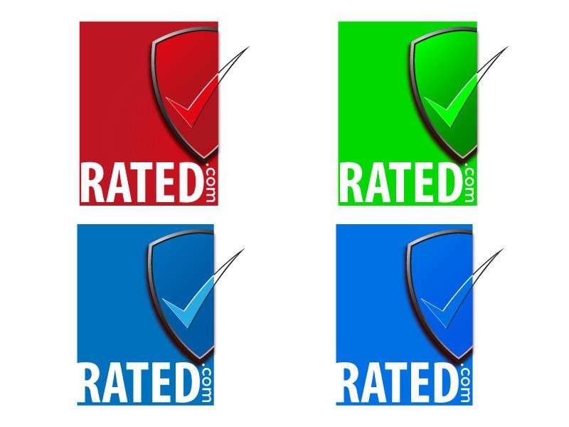 Inscrição nº 114 do Concurso para Design a Logo for Rated.com