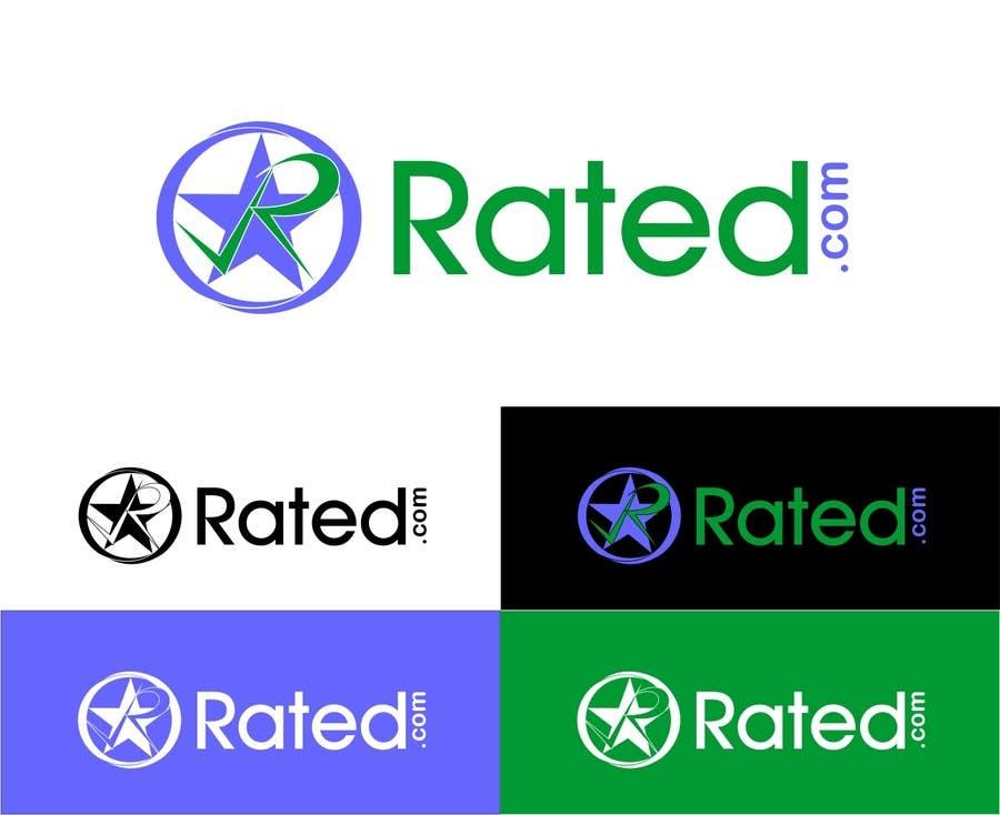 Inscrição nº 230 do Concurso para Design a Logo for Rated.com