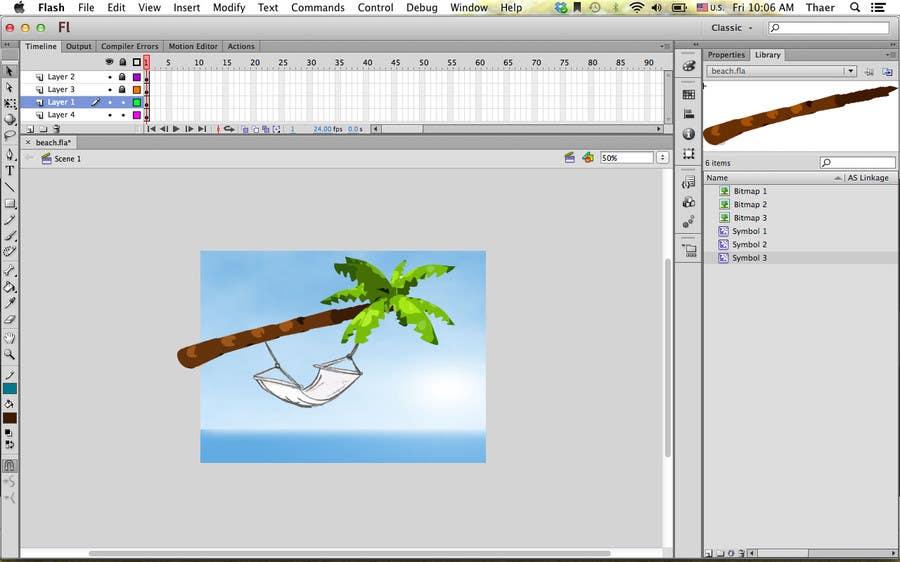#3 for Cartoon Scene: Design : Flash : Animation by tharm