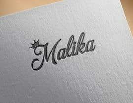 #59 for Design Logo for Malika by romeorider97