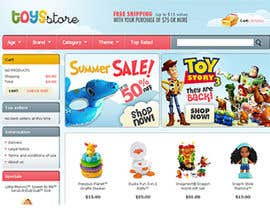 #12 cho Design website for toyshop bởi npapanikolas