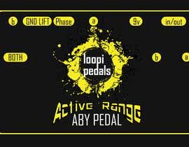 Nro 13 kilpailuun Design Graphics for Guitar Pedals käyttäjältä Feladio