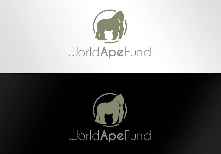 Proposition n°22 du concours Design a logo for the not-for-profit World Ape Fund
