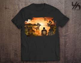 merybaez tarafından Design a Dinosaur Land T-Shirt için no 41