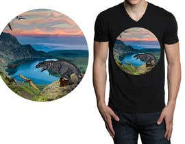#25 for Design a Dinosaur Land T-Shirt by r3dcolor