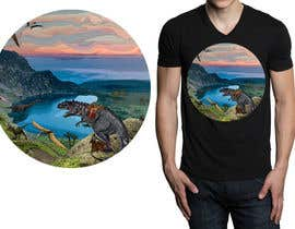 #27 for Design a Dinosaur Land T-Shirt by r3dcolor
