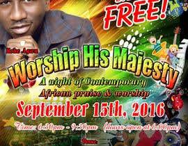 Nro 27 kilpailuun Freedom Concert Flyer - September 2016 käyttäjältä leostar371