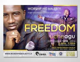 #33 para Freedom Concert Flyer - September 2016 de elgu