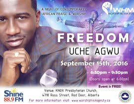 #28 para Freedom Concert Flyer - September 2016 de Quay3010