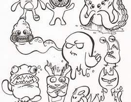 nº 34 pour Create monster drawings for mobile game par LucasScala