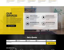 nikil02an tarafından Re-design a website (Landing page for home and content pages) için no 90