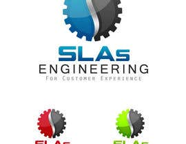 "nº 47 pour Design a Logo for ""Engineering for Customer Experience SLAs"" par NabilEdwards"