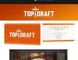 #66 for A logo for TopDraft by Lozenger
