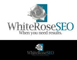 #244 para Logo Design for White Rose SEO (www.whiteroseseo.com) por ZenbayMono